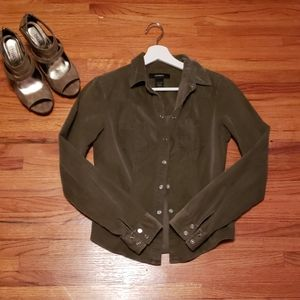 Express corduroy shirt